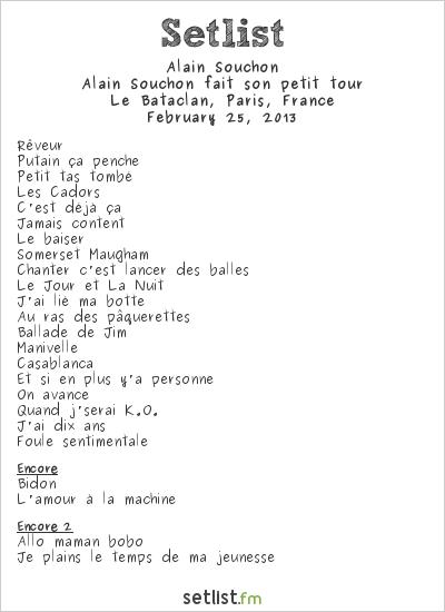 souchon_setlist_2013